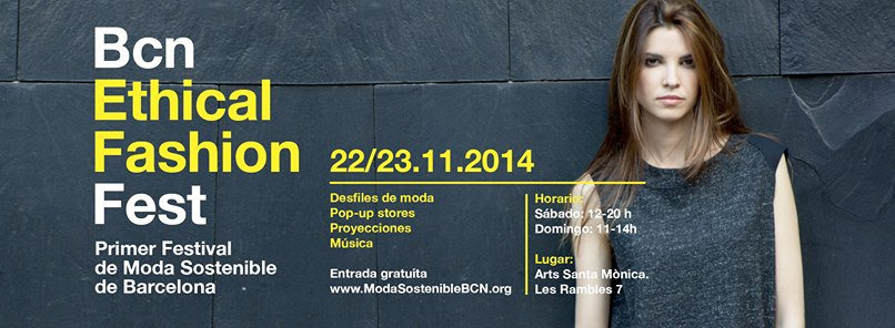 Patrocinamos el BCN Ethical Fashion Fest