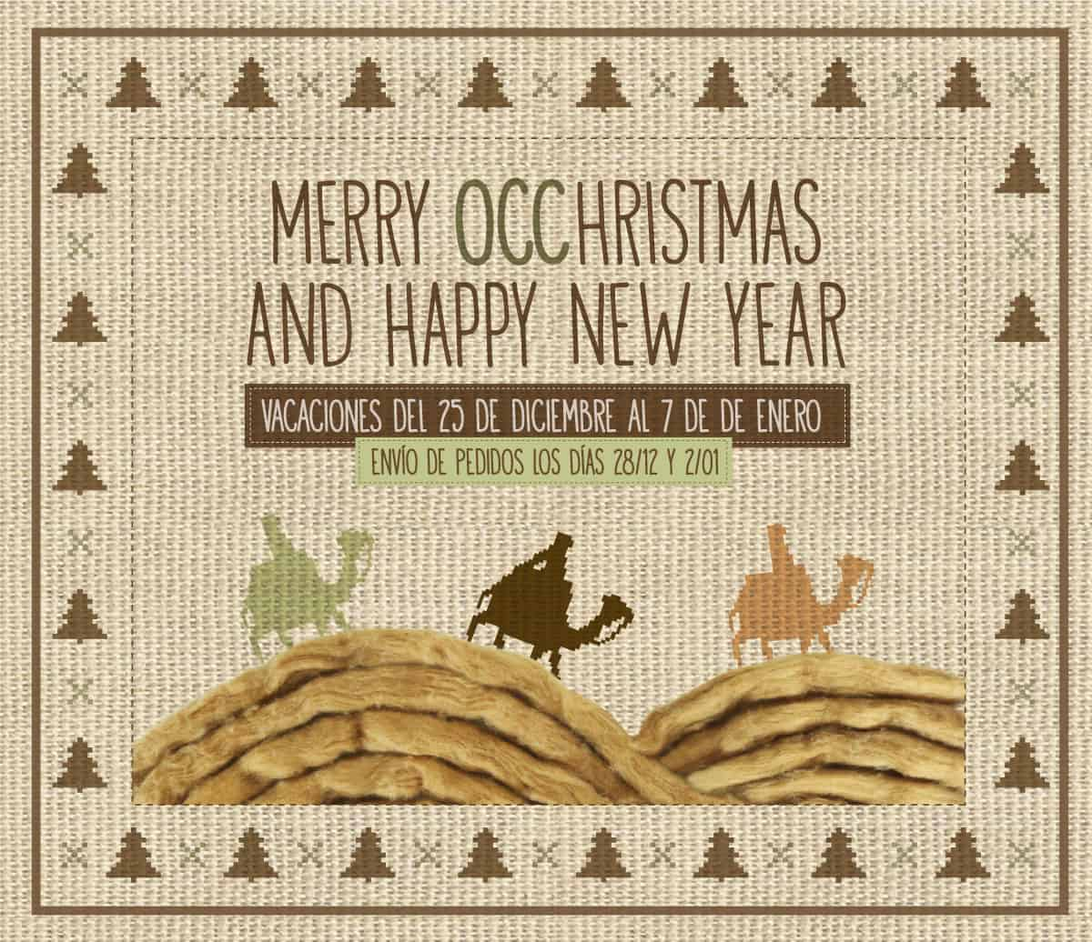 This year, the Three Wise Men will bring you OCCGuarantee® cotton, instead of gold, incense and myrrh.